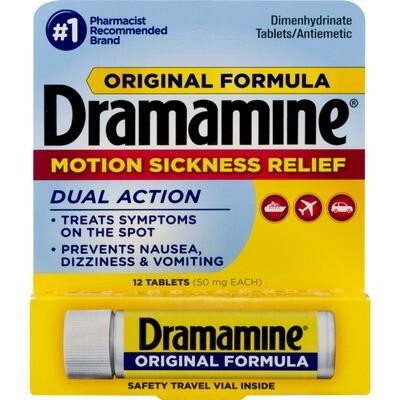 Dramamine Vial