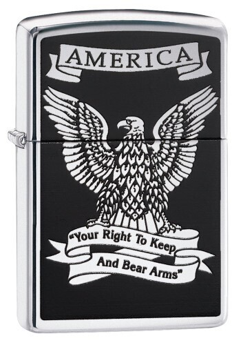 Zippo Right To Bear Arms