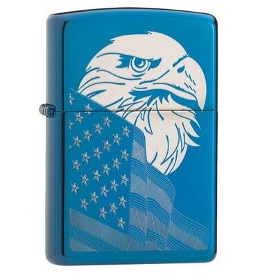 Zippo Blue Eagle