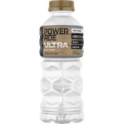 Powerade Ultra White Cherry 20oz