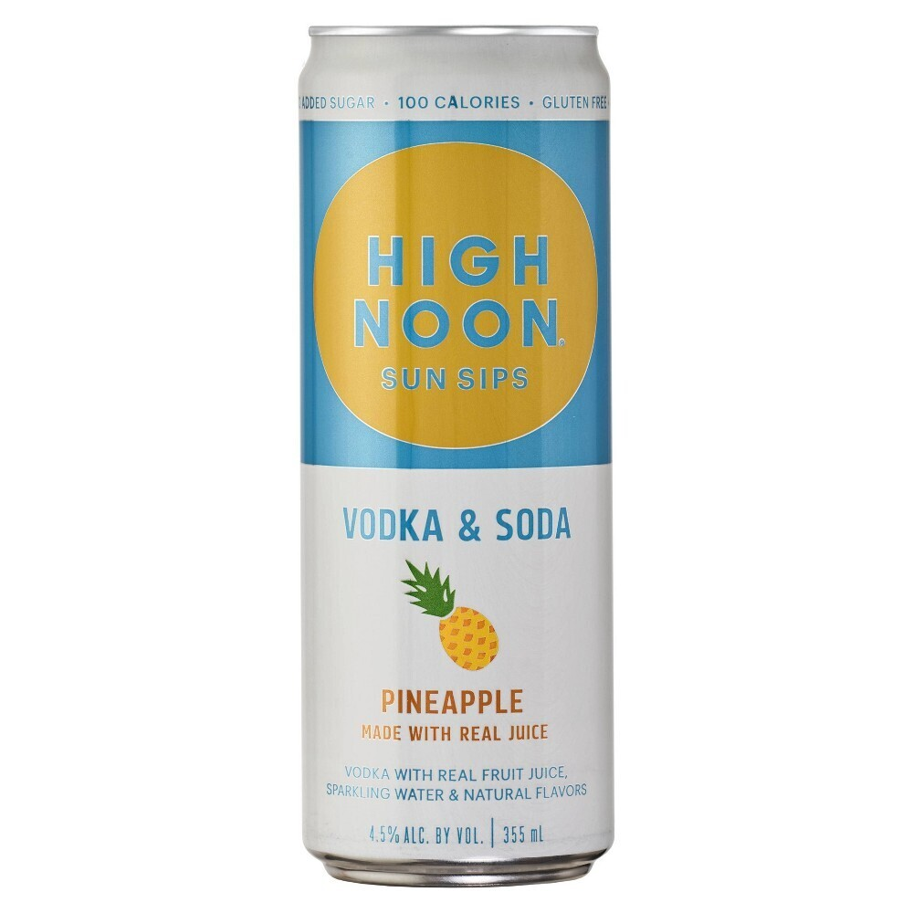 High Noon Pineapple 355mL can