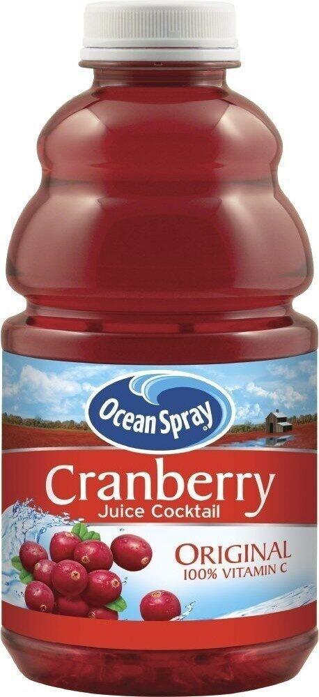 Ocean Spray Cranberry 32oz btl