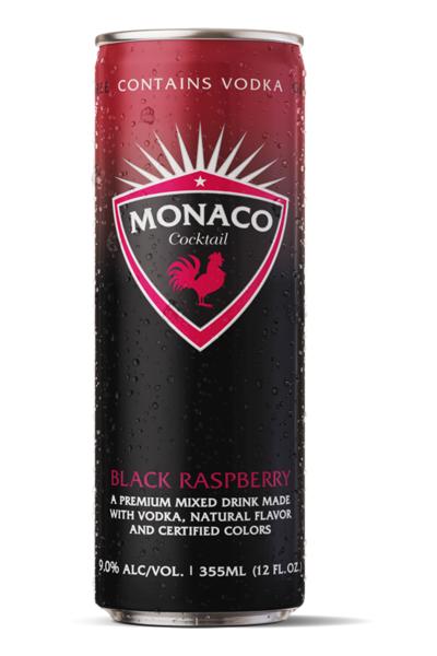Monaco Black Raspberry 12oz can