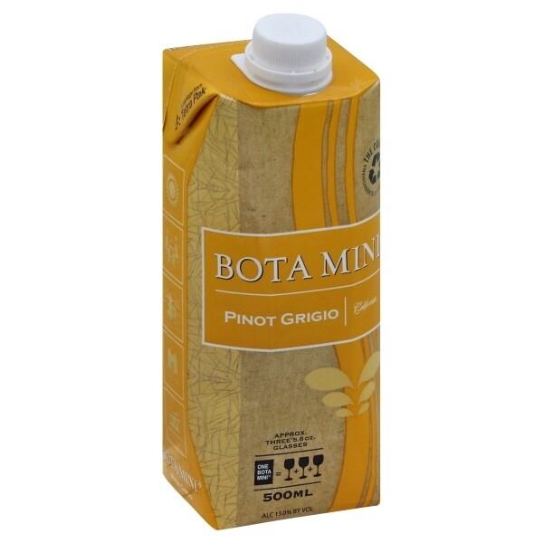 Bota Box Pinot Grigio 500mL
