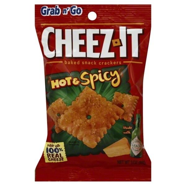 Cheez-It Hot n Spicy 3oz bag