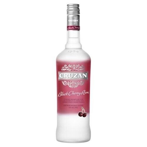 Cruzan Black Cherry Rum 750mL