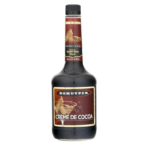 DeKuyper Dark Creme De Cacao 750mL