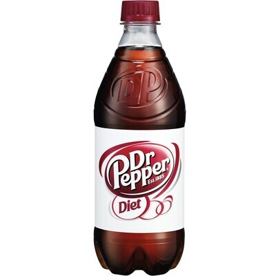Diet Dr Pepper 20oz btl