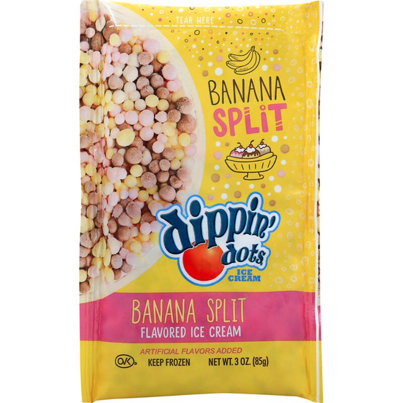 Dippin Dots Banana Split 3oz bag