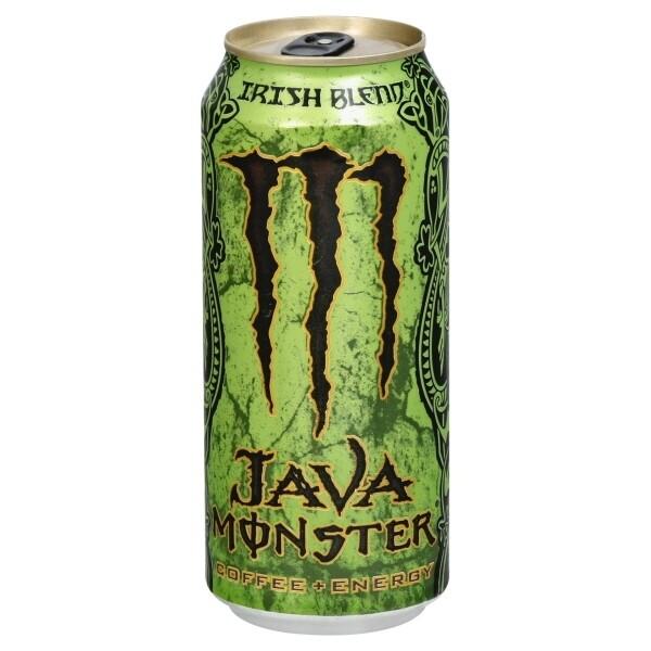 Monster Java Irish Blend 15oz can