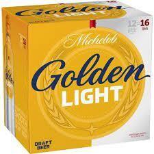 Michelob Golden Light 12pk alum btl