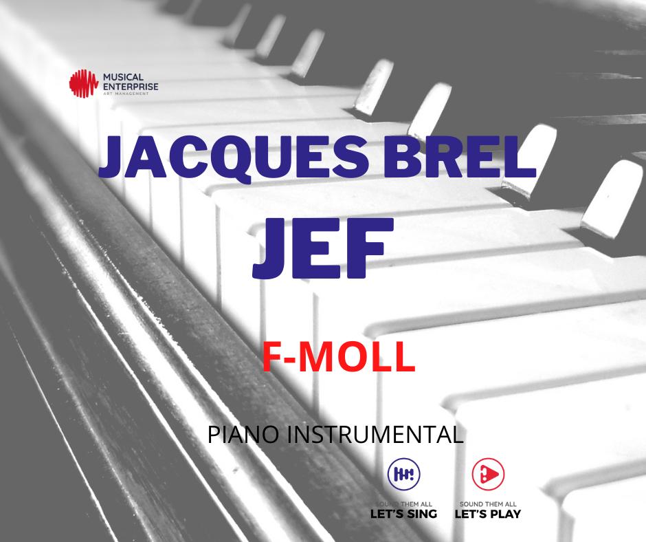 JACQUES BREL - JEF G-MOLL