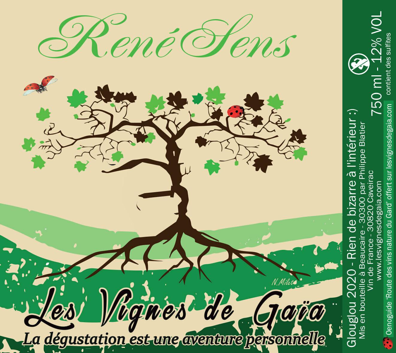 RENESENS X 6 - FRAIS DE PORT A AJOUTER