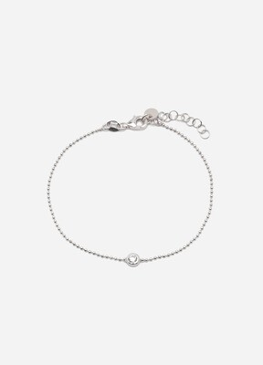 Dainty Armband | Rhodium