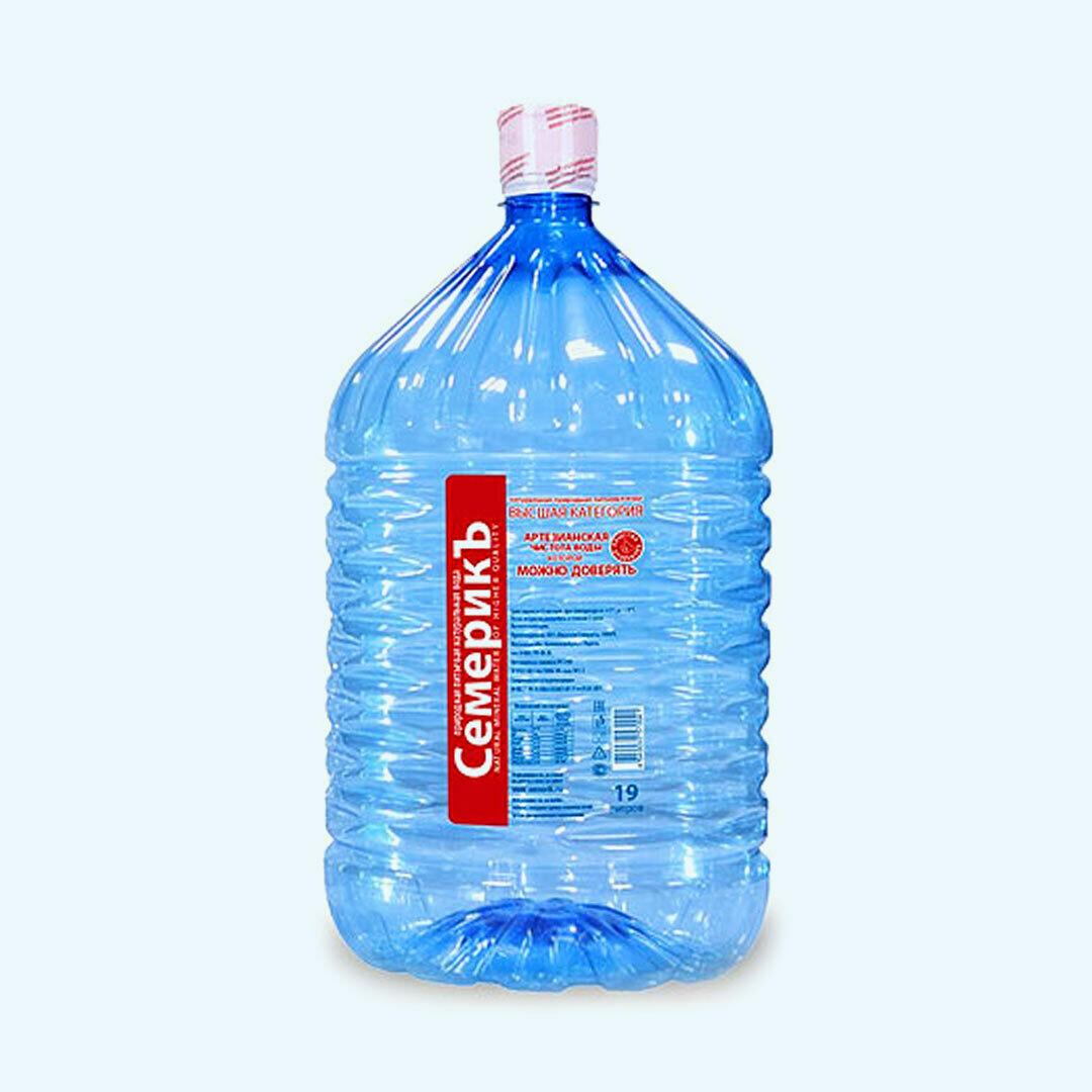"""Вода """"Семерикъ"""" 19 л"""