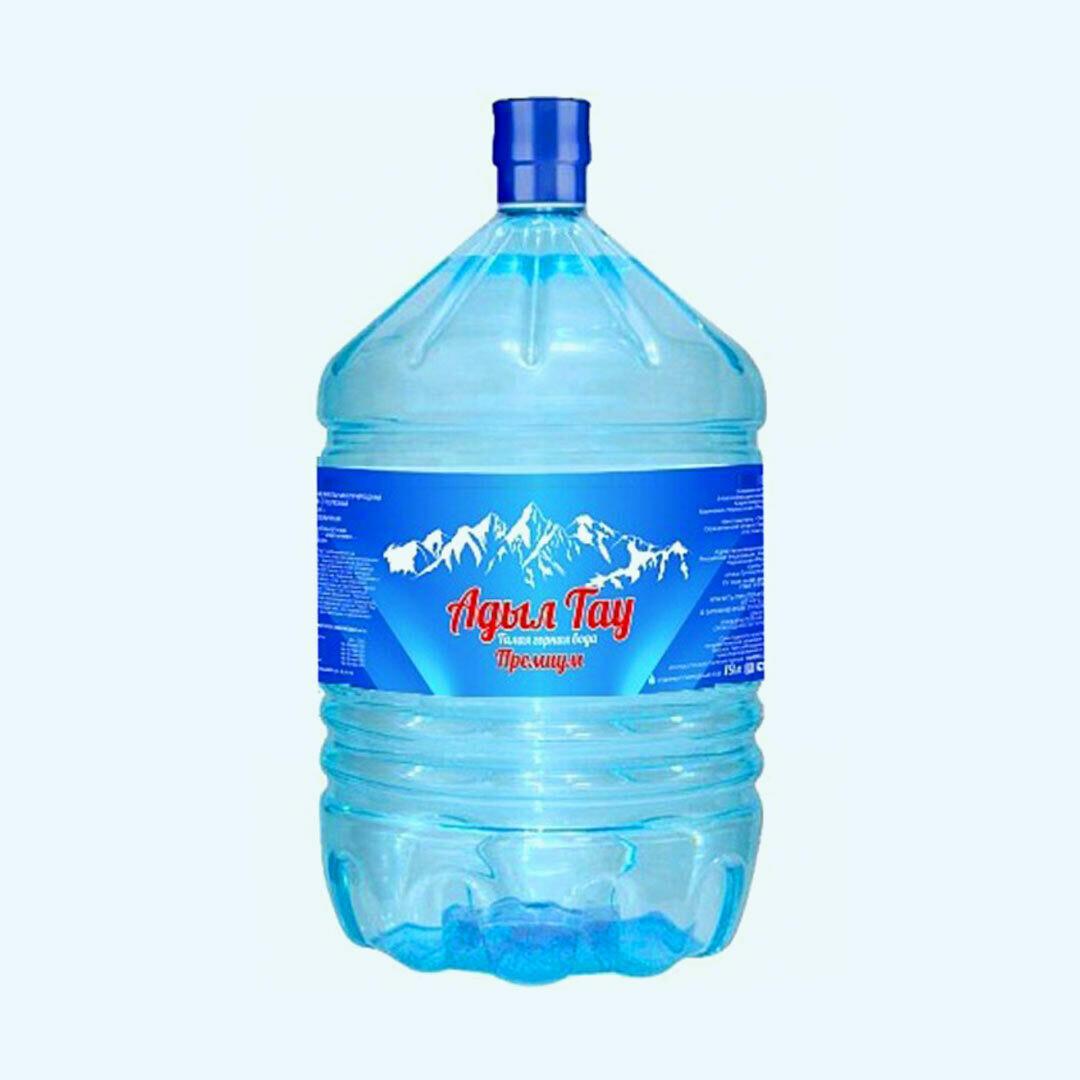 """Вода """"Адыл Тау"""" 19 л"""