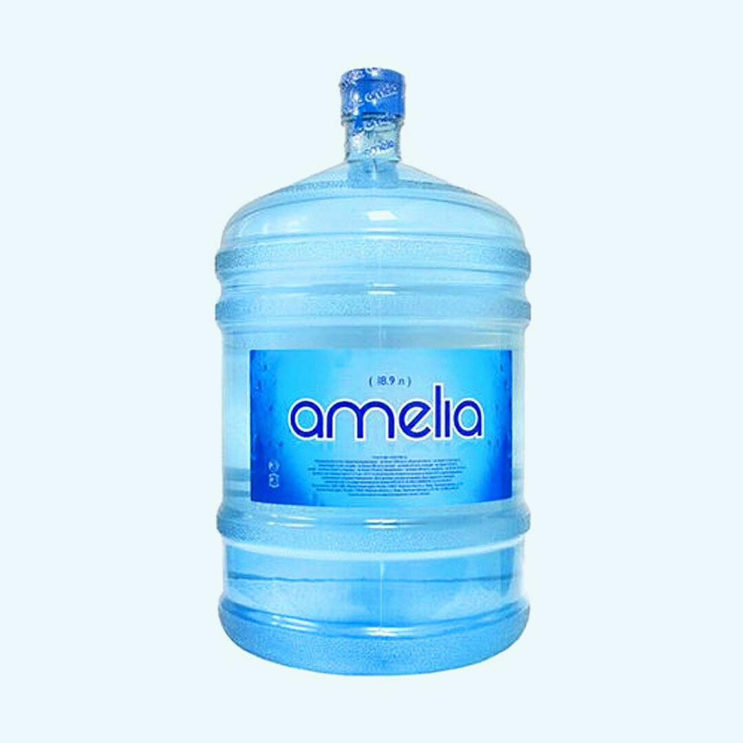 """Вода """"Амелия"""" 19 л оборотная тара"""