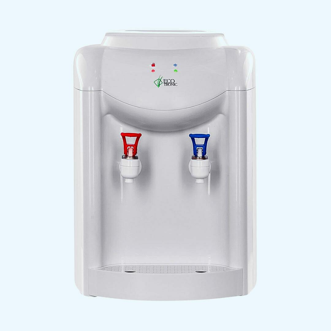 Кулер для воды Ecotronic K1-TN White настольный