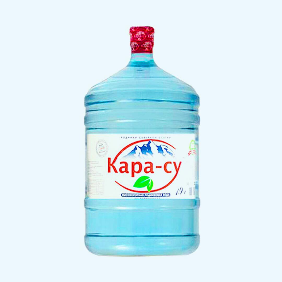 """Вода """"Кара-су"""" 19 л"""