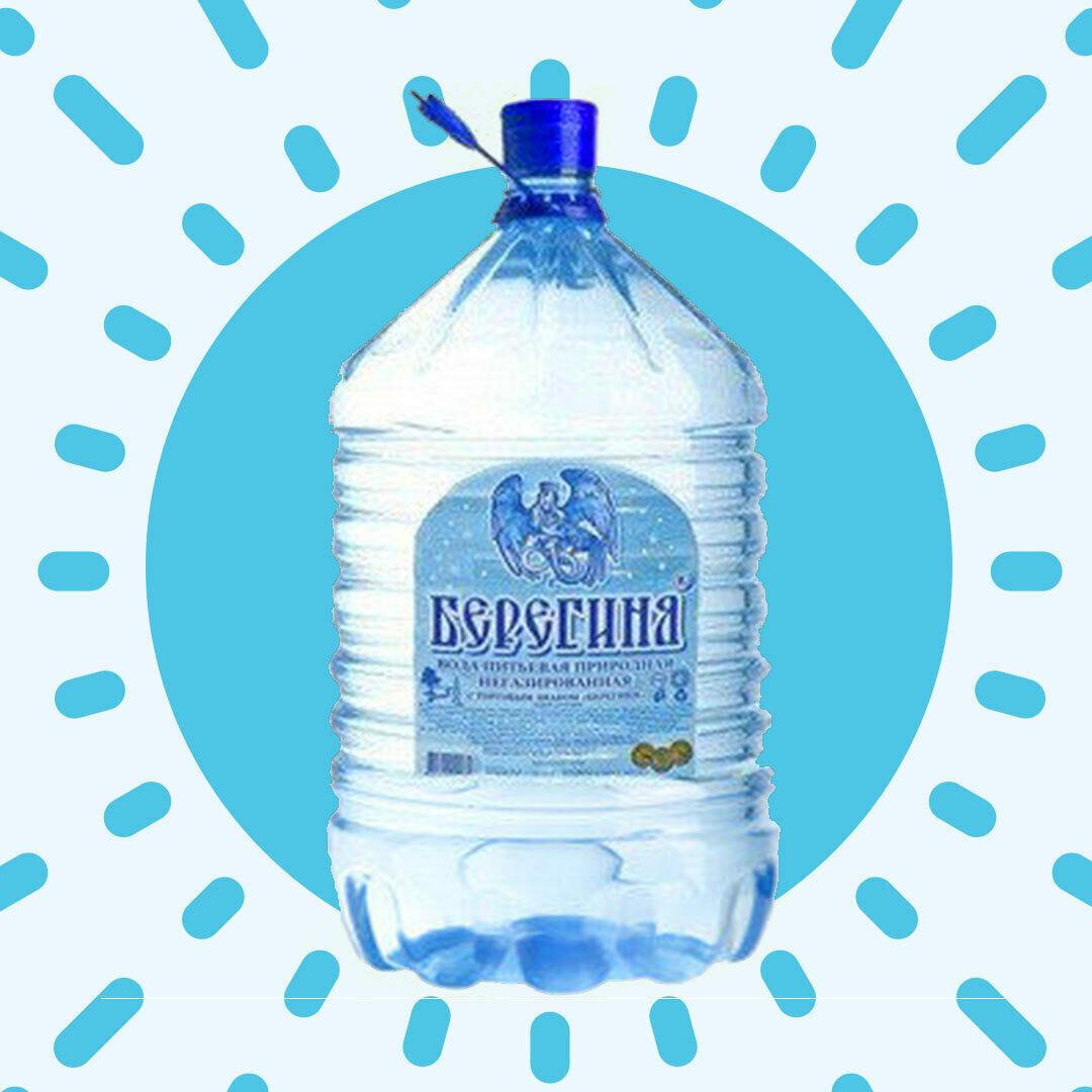 """Закажи 5 бутылей воды """"Берегиня"""" - 6-я бутыль в подарок!"""