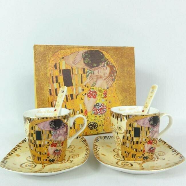 """Espresso komplekts """"G.Klimt"""" 150ml"""