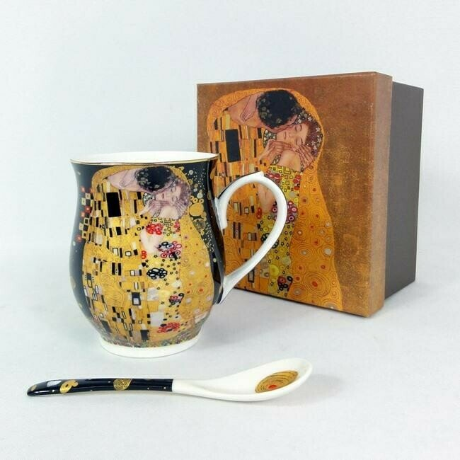 "Krūze ""G.Klimt""  ar karoti 350ml"