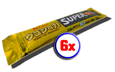 6x Super Ukon No Chikara (40mg)