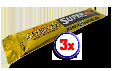 3x Super Ukon No Chikara (40mg)