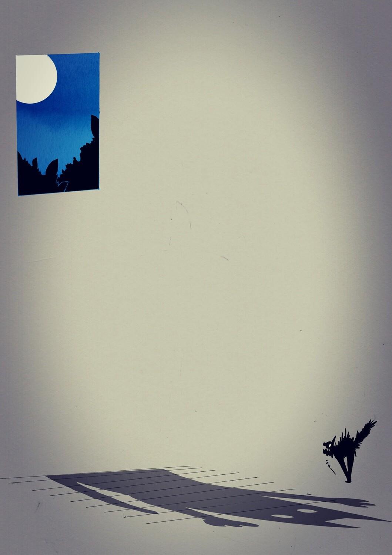 Cat Moon Shadow A5