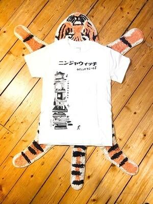 Ninjawich T shirt White or Grey