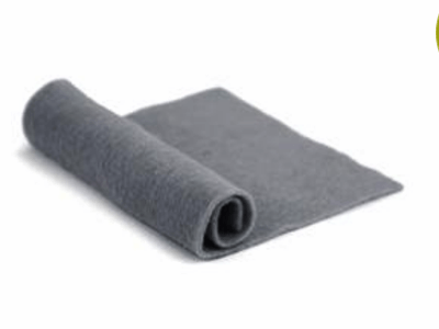 Merino Wool Pre-Felt -- Gray