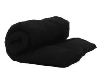 Perendale Wool  -- Carded Batt --  Black