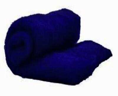 Perendale Wool  -- Carded Batt --  Navy