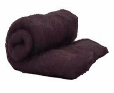 Perendale Wool  -- Carded Batt --  Espresso