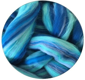 Fine Merino Wool Roving -- NEW! Pacific