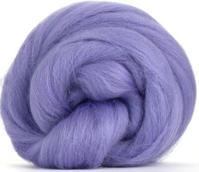 NZ Corriedale Wool Roving --  Lavender Haze