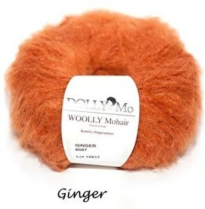 NEW! Dolly Mo Woolly Mohair GINGER