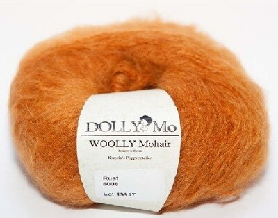 NEW! Dolly Mo Woolly Mohair RUST