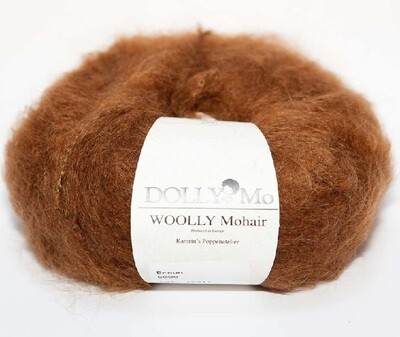 NEW! Dolly Mo Woolly Mohair BROWN