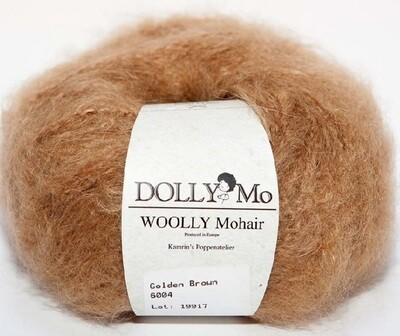 NEW! Dolly Mo Woolly Mohair GOLDEN BROWN