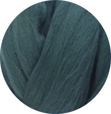 Fine Merino Wool Roving -- Brittany Blue
