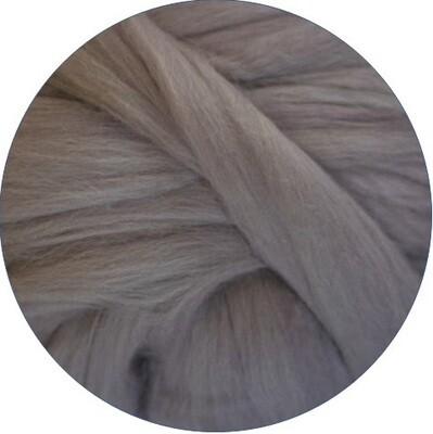 Fine Merino Wool Roving -- Mink