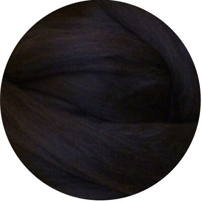 Fine Merino Wool Roving -- NEW! Bitter Chocolate