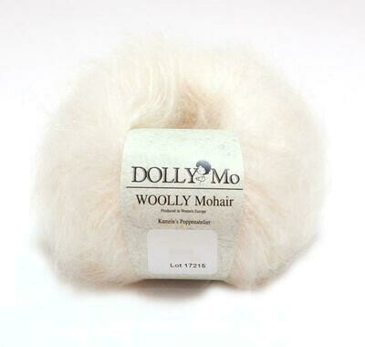 NEW! Dolly Mo Woolly Mohair SNOW WHITE