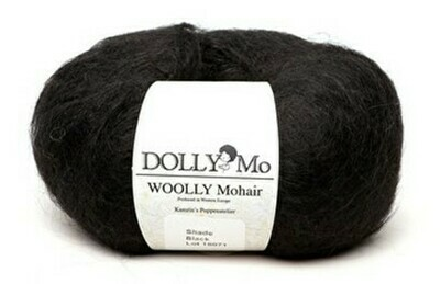 NEW! Dolly Mo Woolly Mohair BLACK