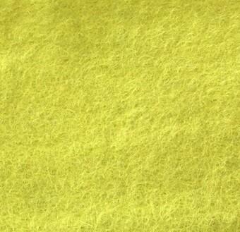 Handmade 100% Wool Felt -- Limeade