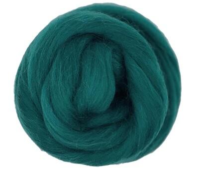 NZ Corriedale Wool Roving --  Alexandrite