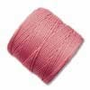 S-LON Superlon Bead Cord -- Pink