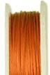 Kumihimo Wire -- Orange