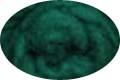 HomeSpun Carded Wool Roving -- Evergreen